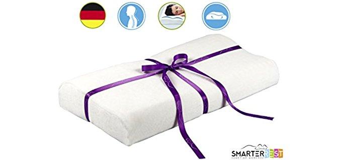 Smarter Rest German Memory Foam Pillow - Granulated Surface Technology