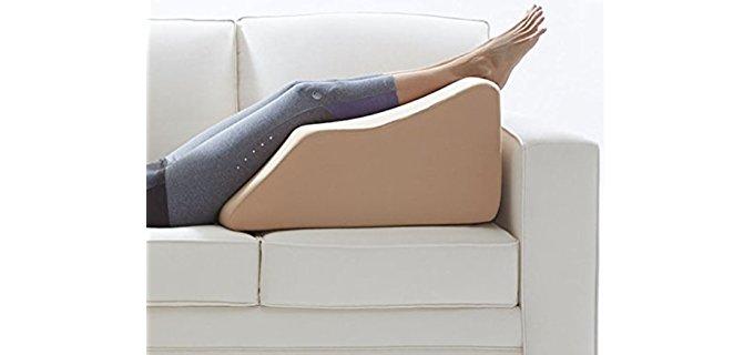 The Lounge Dr. Blue Tall - Standard Leg Rest w/Cover Blue Tall FOAM-XTALL-BLUE