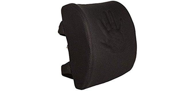 Everlasting Comfort Hypoallergenic - Memory Foam Orthopedic Design With Dual Premium Adjustable Straps