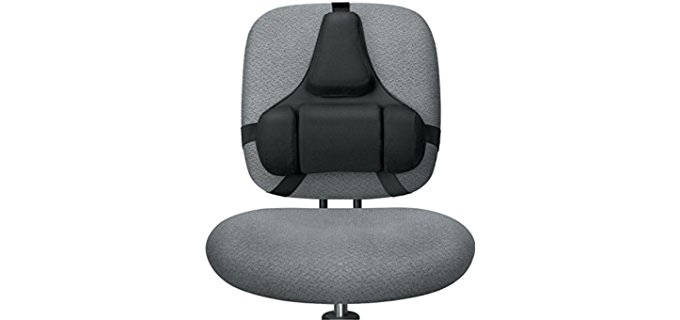 Fellowes Professional Series - Back Support, Black