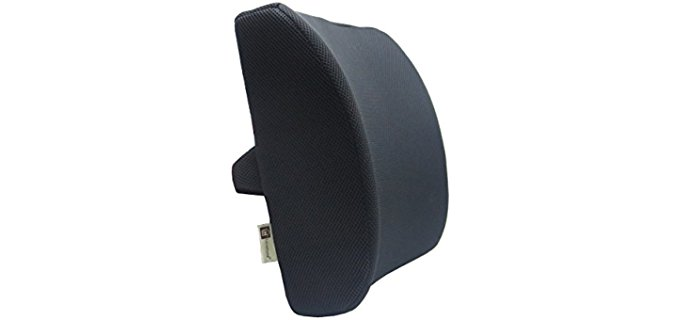 Love Home 3d Ventilative Mesh Lumbar - Support Cushion Back Cushion Alleviates Lower Back Pain