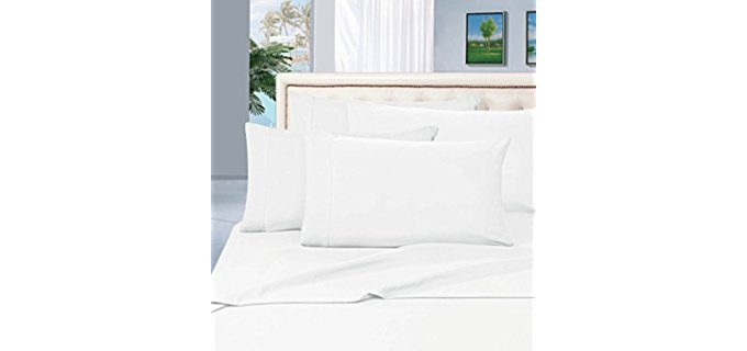 Elegant Comfort Luxurious - Hypoallergenic Antibacterial Pillowcase