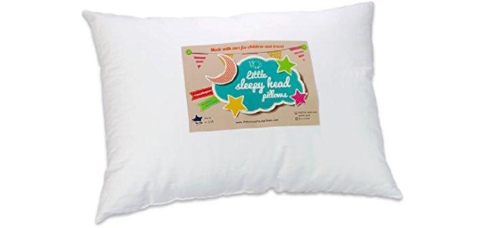 Little Sleepy Head Toddler - Pillow for Kids