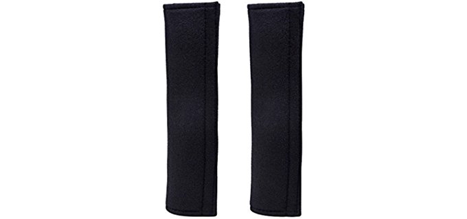 eBoot Black - Shoulder Pad Strap Covers