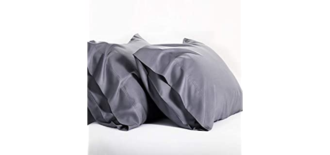 Bedsure Bamboo - Memory Foam Pillow Case
