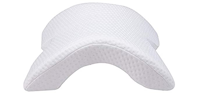 Coolsion Ice Silk - Arched Sleeping Pillow