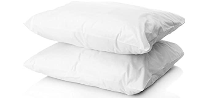 Digital Decor Heavy - Gold Hotel Pillows