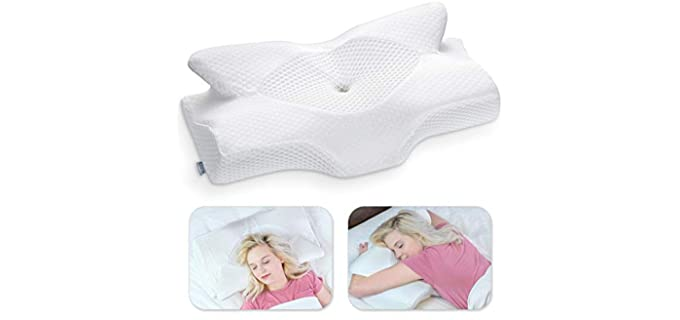 Elviros Ergonomic - Shoulder Pain Relief Pillow