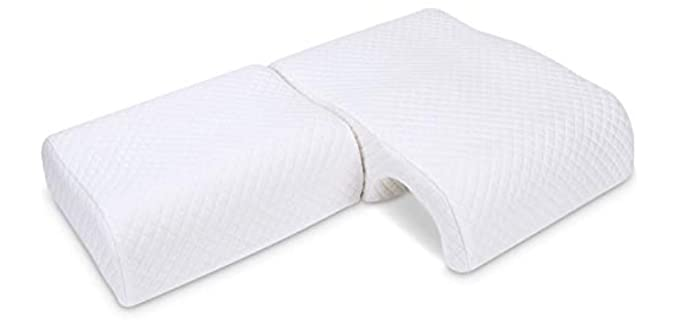 HOMCA Couples - Adjustable Cuddle Pillow