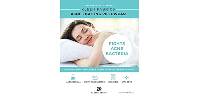 Kleen Fabrics Standard - Antimicrobial Pillowcase