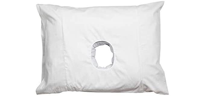 The Original White - Pillow with Ear Hole