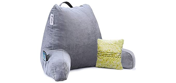 Vekkia Back Support - Reading and Bed Rest Pillow