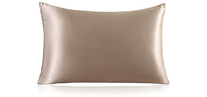 ZIMASILK 100% Mulberry - Anti-Aging Silk Pillowcase