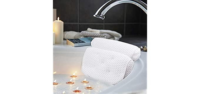 AmazeFan Supportive - Bath and Spa Pillow