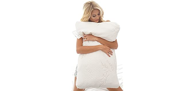 Back Support Systems Antimicrobial - Bamboo Pillow