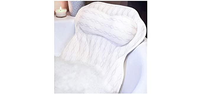 KANDOONA Ergonomic - Bath Neck and Back Pillow