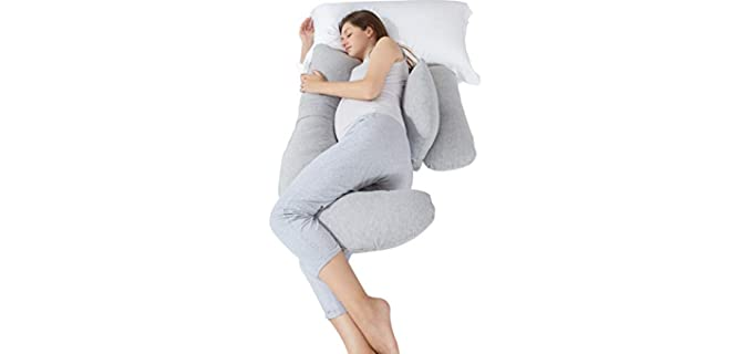 Bedsure H-Shape - Pregnancy Body Pillow