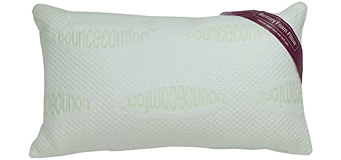 Bounce Comfort Plush - Antimicrobial Bed Pillow