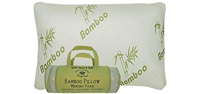DINY Home & Style Bamboo - Anti Snore Pillow