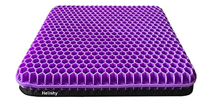 Helishy Double Thick - Gel Seat Cushion