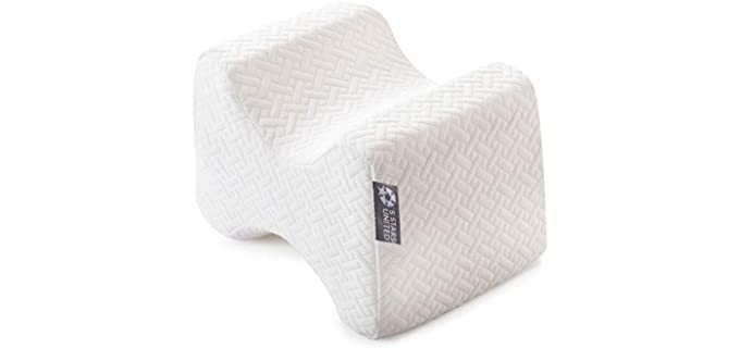 5 Stars United Side Sleepers - Hip Pain Pillow for Side Sleeping