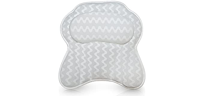 Bath Haven Store Luxurious - Ergonomic Bath Pillow