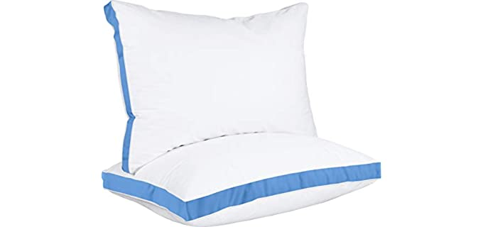 Utopia Bedding Gusseted - Sleeping Bed Pillow