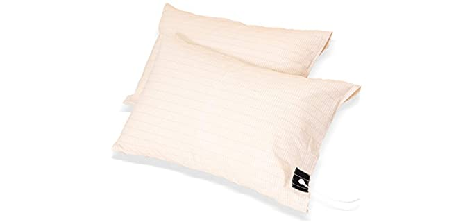 NIULAFR Silver - Grounding Pillow Case