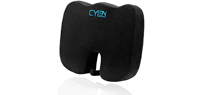 CYLEN Orthopedic - Memory Foam Seat Cushion