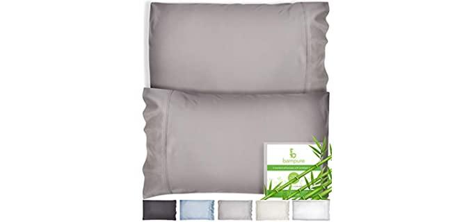 Bampure Bamboo - Pillowcase for a Memory Foam Pillow