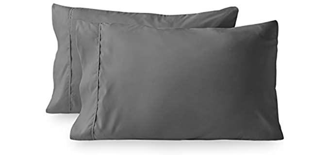 Bare Home Premium - Microfiber Pillowcase for Hair