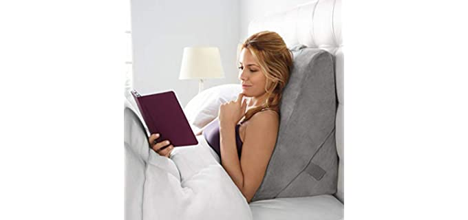 Brookstone 4 In 1 - Pillow for Watching TV in Bed