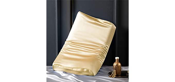 Cozysilk Pure Silk - Silk Pillowcase for Contour Pillows