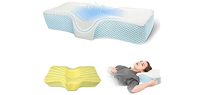 BAAOBAAB Memory Foam - Pillow for Migraines
