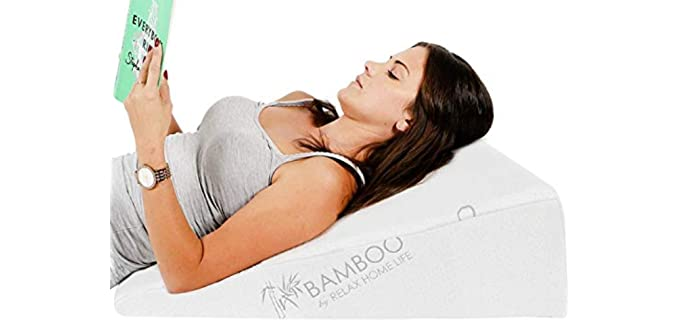 Relax Home Life Bed Wedge - Pillow for Acid Reflux