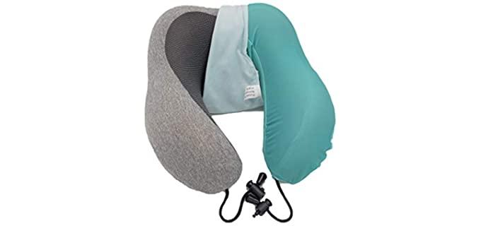 Kabob Creations Dusty Teal - Pillowcase for Travel Pillows
