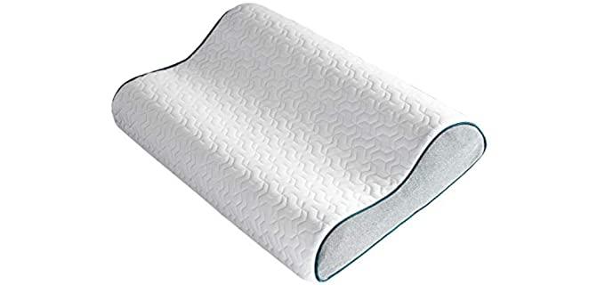 Bedsure Contour - Pillow for Migraines