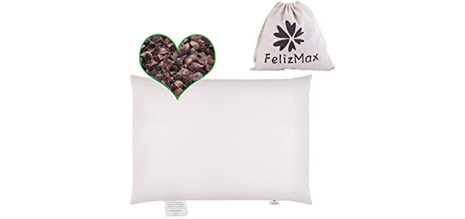 FelizMaX Organic - Buckwheat Pillow