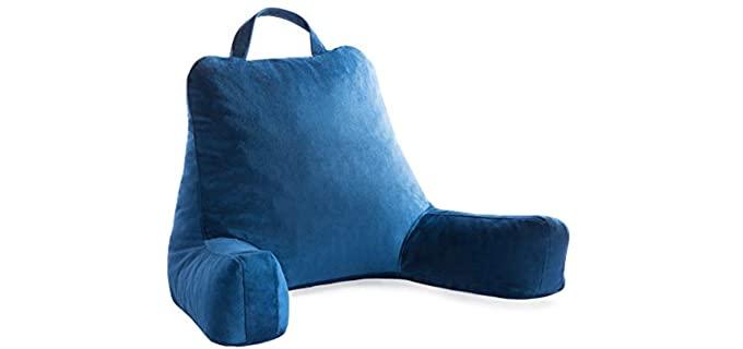 Linenspa memory Foam - Watching TV  Bed Pillow