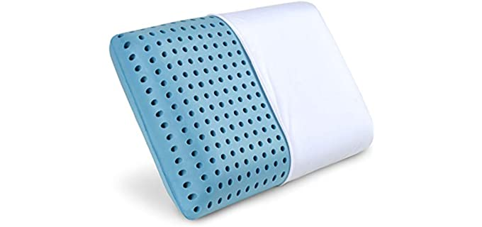 PharMeDoc Blue - Pillow with Cooling Gel