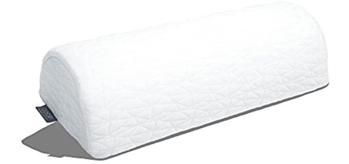 Coop Home Goods Four Position - Bolster Halfmoon Pillow