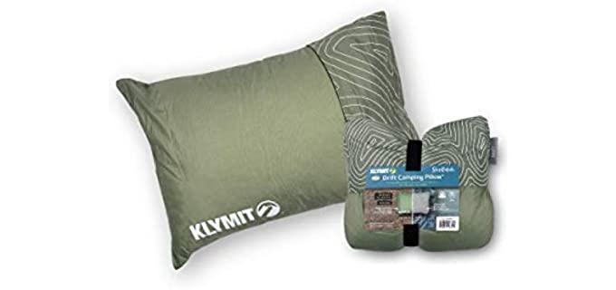 Klynit Drift Reversible - Reversible Camping Pillow