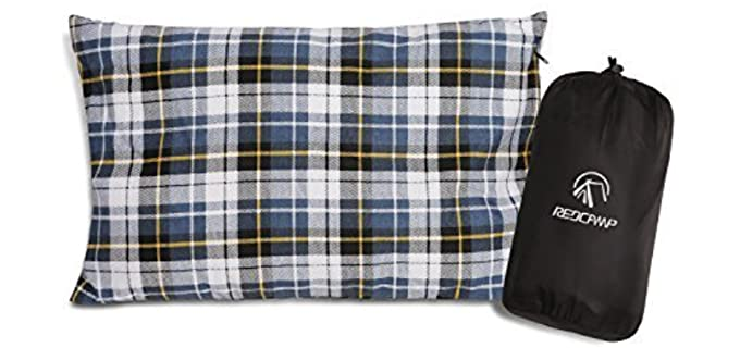 Redcamp Outdoor - Flannel Camping Pillow